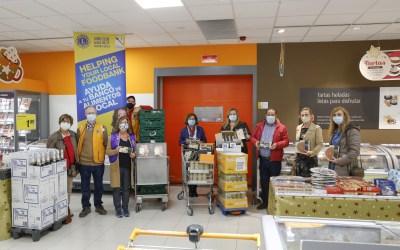 Nueva donación del Club de Leones de l'Alfàs al Voluntariado Social
