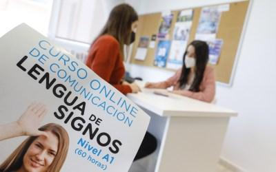 El Ayuntamiento de l'Alfàs oferta un curso gratuito de lengua de signos online