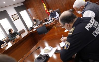 El Ayuntamiento de l'Alfàs reforzará la vigilancia policial en la playa de l'Albir en Semana Santa