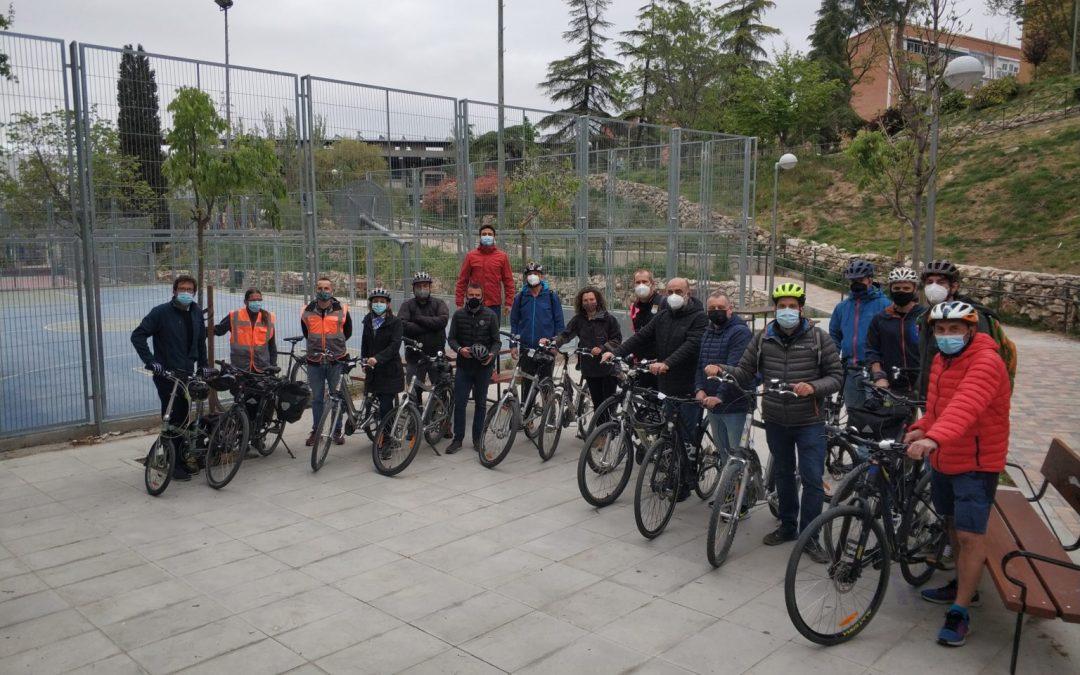 L'Alfàs del ha participado en el curso de formación para instructores organizado por  la Red de Ciudades por la Bicicleta