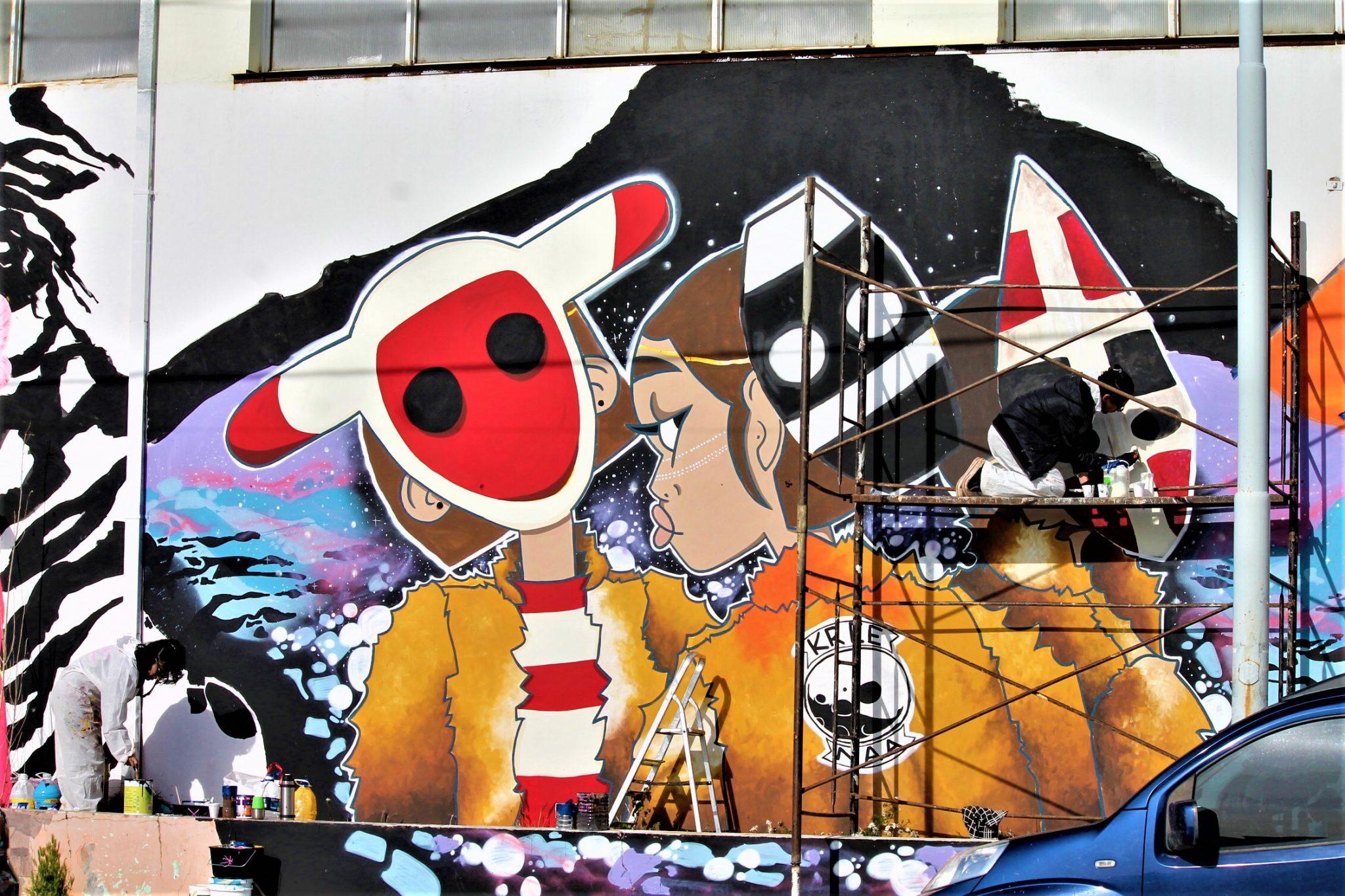 FESTIVAL DE ARTE PÚBLICO URBANO CURVA, arte urbano