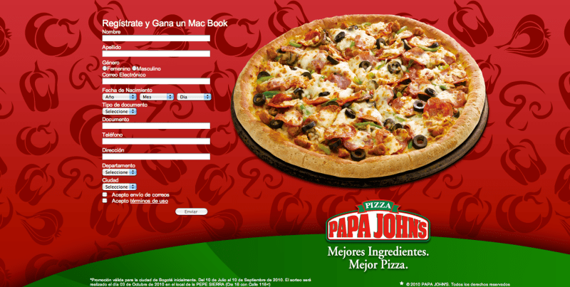 www.papajohns.com.co