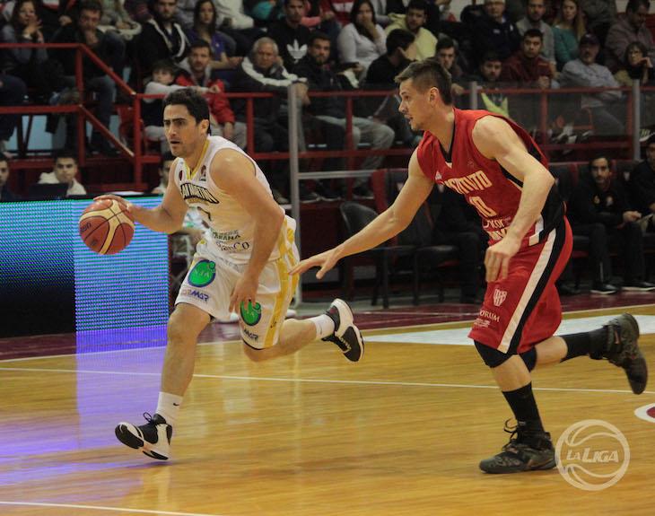 Lucas Faggiano y Miguel Gerlero (Foto: LNB Contenidos)
