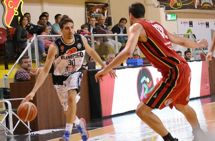 Mauro Cosolito y Federico Aguerre (Foto: LNB Contenidos)