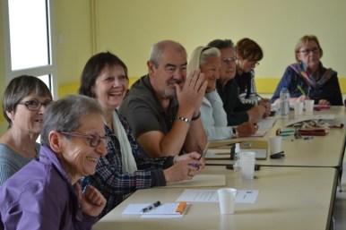 Convivialité et échanges entre les bénévoles