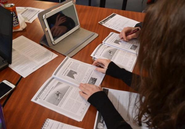 Service civique en formation – Education aux médias
