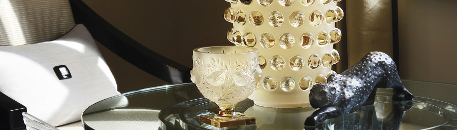 Crystal home accessories   Lalique crystal decorations   Vases     Home accessories