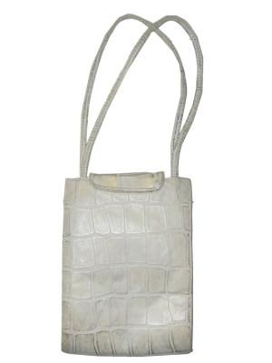 Pinky USA vintage cream and gold leather handbag