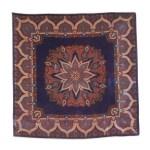 Purple star design scarf