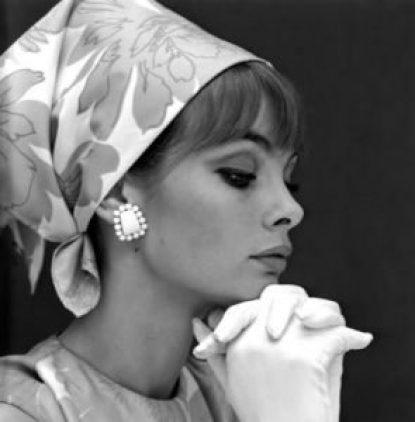 jean shrimpton headscarf