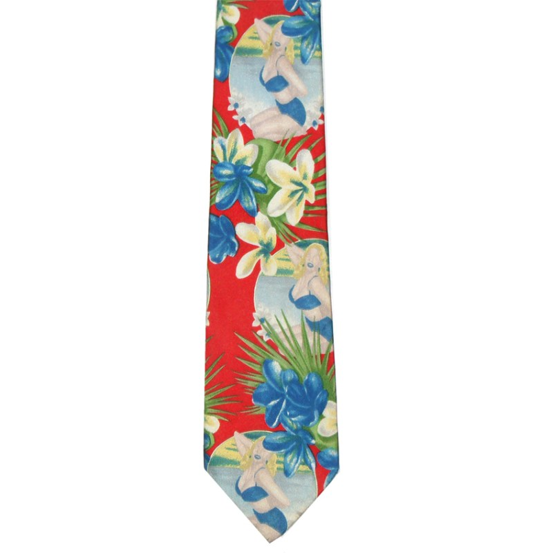 Dolce and Gabbana retro silk tie
