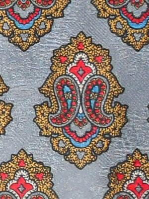 Yves Saint Laurent vintage silk tie