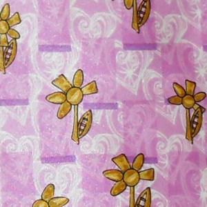 Christian Lacroix floral design silk tie