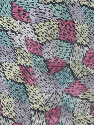 Multi coloured graphic print silk tie by Missoni
