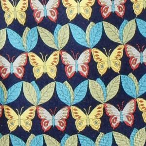 Nazareno Gabrielli Italy silk tie with a butterfly design