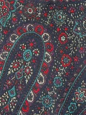 Vintage silk paisley tie Pierre Cardin