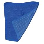 mall design blue silk pocket square
