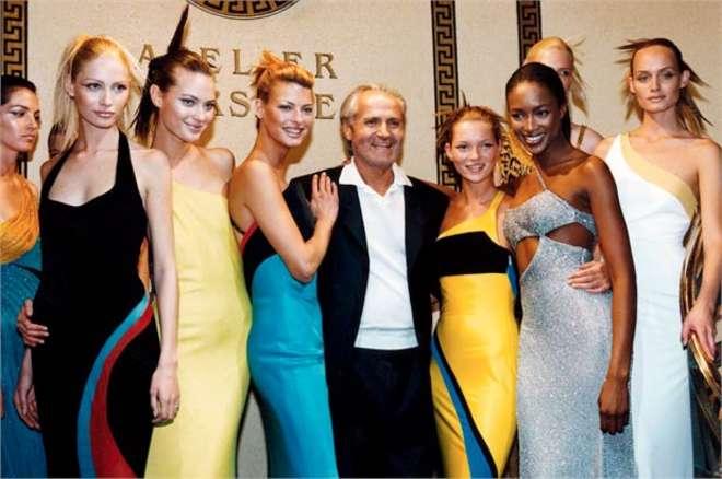 Gianni Versace 3 Personaggi illustri
