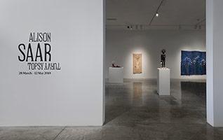 Installation photography, Alison Saar: Topsy Turvy