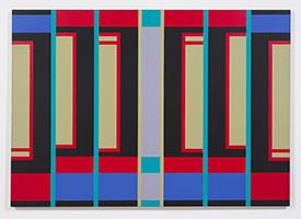 Fanny Sanín<BR> Acrylic No. 2, 1974<BR> acrylic on canvas<BR> 65 x 92 in. (165.1 x 233.7 cm)