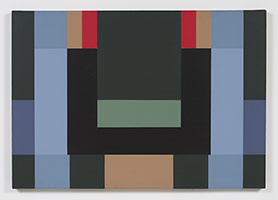 Fanny Sanín<br> Acrylic No, 2, 1981<br> Acrylic on canvas<br> 28 x 40 in. (71.1 x 101.6 cm)