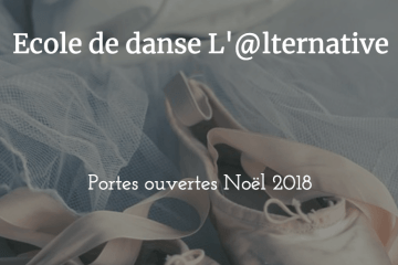 photo portes ouvertes noel 2018 école de danse l'alternative Bex