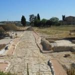 Cantiere aperto nel parco archeologico della città romana di Suasa