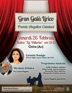 Grande serata di lirica al Teatro La Vittoria di Ostra