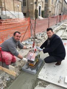 Iniziata a Senigallia la pavimentazione di piazza Garibaldi