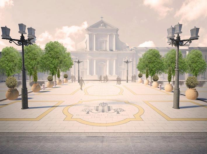Una proposta di viabilità per piazza Garibaldi, a Senigallia
