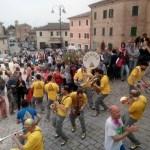 Una mostra mercato alla Festa dei Folli di Corinaldo