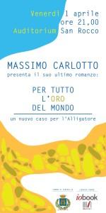 Massimo Carlotto a Senigallia per presentare il suo ultimo libro