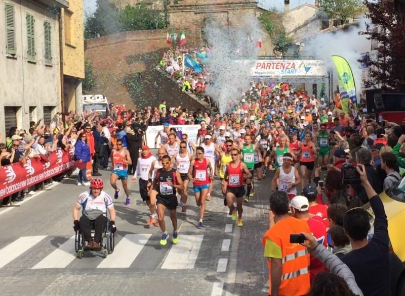 L'8 maggio la ColleMar-Athon da Barchi a Fano