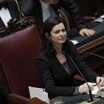 La presidente Laura Boldrini al Pesceazzurro
