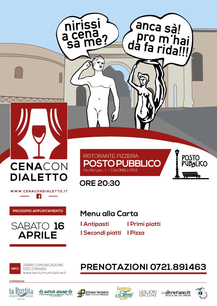 """Nuova tappa per """"Cena con dialetto"""""""