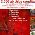"""A Marzocca lettura di brani di """"3000 ab Urbe condita"""""""