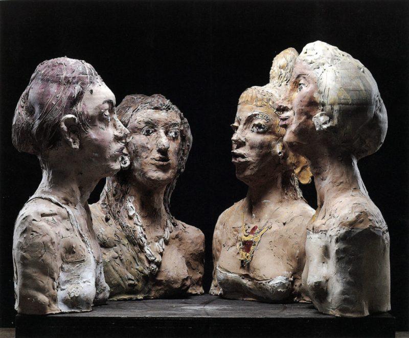 """Inaugurata ad Urbino la mostra dedicata al gruppo scultoreo """"Le pettegole"""""""