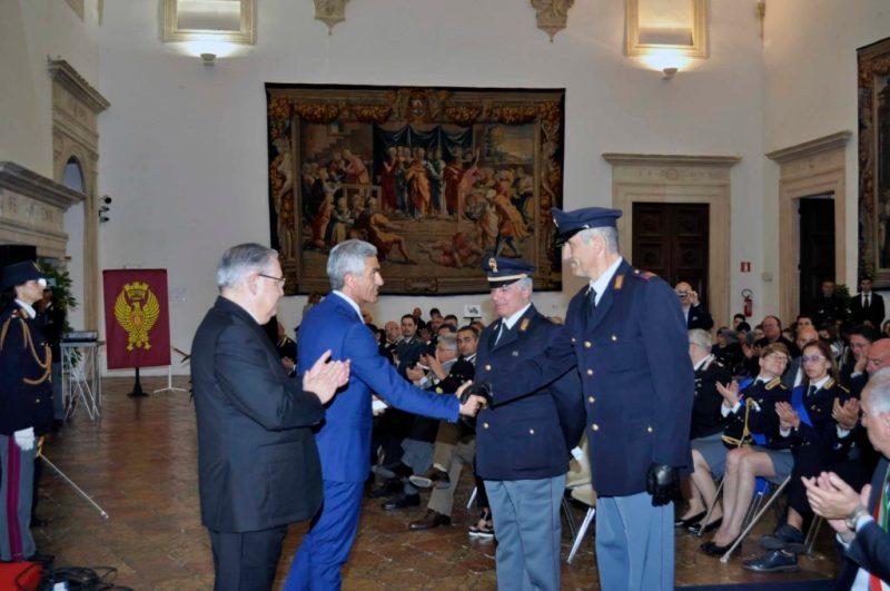 Celebrata a Urbino la festa provinciale della polizia