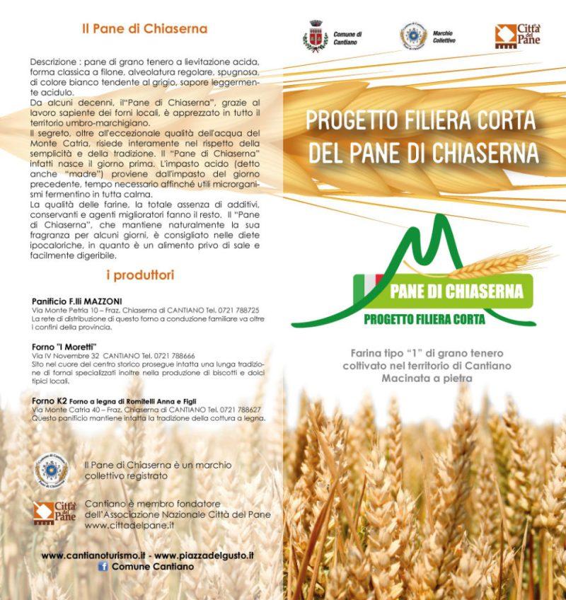 Per il pane di Chiaserna c'è un progetto di sviluppo