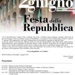 Tante iniziative a Corinaldo per la Festa della Repubblica
