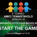 """Inizia il 4° torneo """"Amici del Tennistavolo Senigallia"""""""