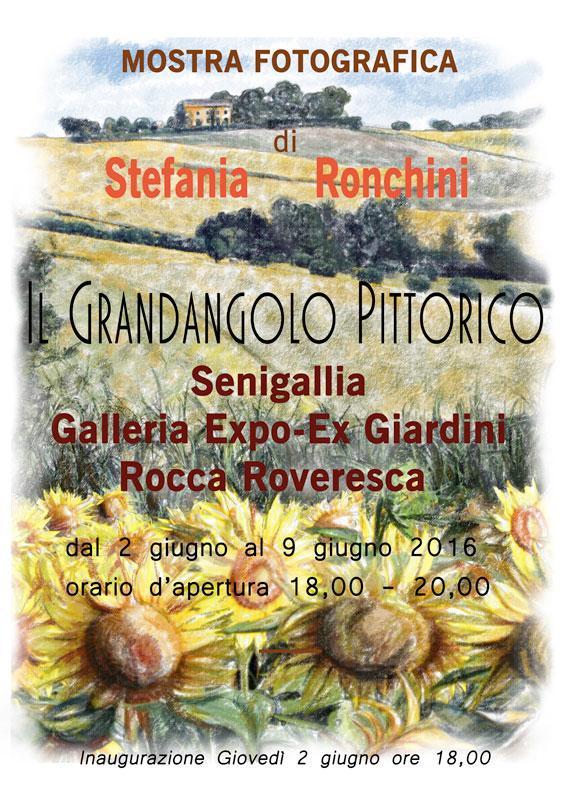 Il grandangolo pittorico en plein air di Stefania Ronchini