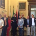 SENIGALLIA / Ricevuto dal sindaco il governatore del Rotary International Paolo Raschiatore