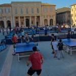 SENIGALLIA / La città del ping-pong è tornata nella piazza ritrovata
