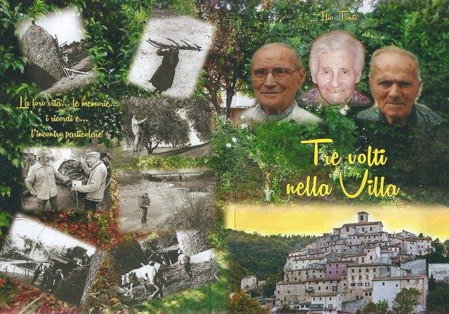 """SERRA DE' CONTI / Ristampato il libro di Ilio Tonti """"Tre volti nella villa"""""""