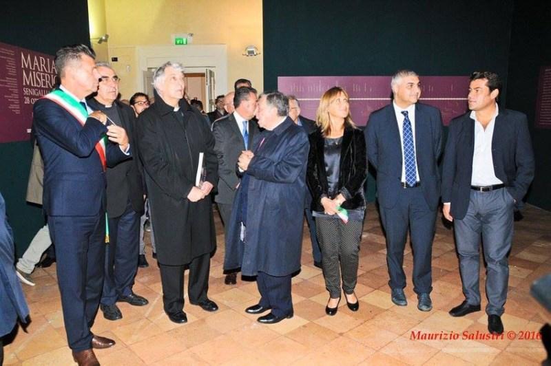 """Inaugurata a Senigallia la mostra """"Maria Mater Misericordiae"""""""
