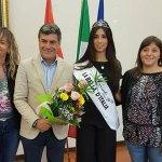FANO / Chiara Mancini, Bella d'Italia, festeggiata in Comune