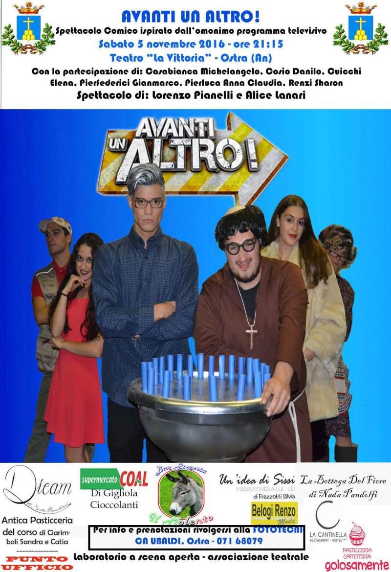 A Ostra debutta la commedia brillante Avanti un altro, scritta e diretta da Lorenzo Pianelli
