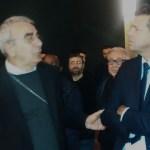 """Il vescovo di Senigallia Francesco Manenti ha visitato la mostra """"Maria Mater Misericordiae"""""""