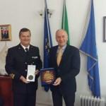 FALCONARA / Il sindaco Brandoni ha incontrato il Contrammiraglio Ferrara